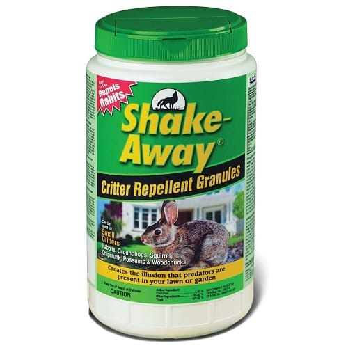 shake away squirrel repellent