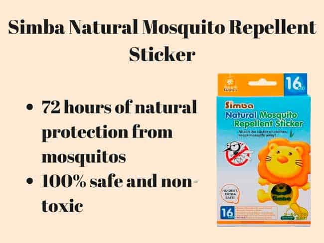 mosquito repellent stickers for kids
