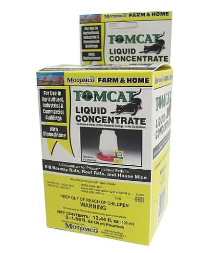 Tomcat Mouse and Rat Liquid Concentrated Poison Bait