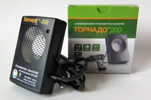 Отпугиватель грызунов Торнадо-200: фото