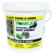 "Poison Bait for rats and mice ""Tomcat All-Weather Bait Chunx 4 Lb"" Review"