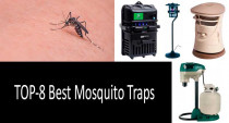 What is the best and the most effective mosquito trap: Propane, Ultra Violet, CO2 or H2O Trap?