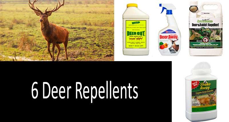 DEER Repellents Guide: TOP-6 Best
