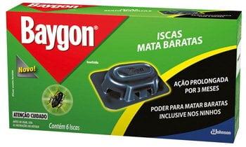 Inseticida para Baratas Baygon Isca 6 Unidades: foto