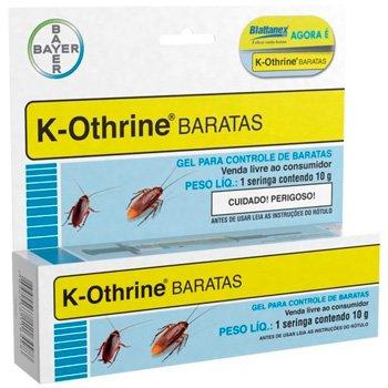 Kit Com 2 Unidades Mata Barata K-othrine Gel: foto